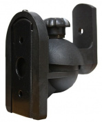 Pure Resonance Audio MC5B-B Mini Cube Speaker Wall Bracket Black Designed for Small Speakers - PRICED AND SOLD IN PAIRS