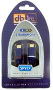 Strandworx SRY2F RCA 2-Female to 1-Male Y-Adaptor