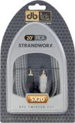 Strandworx SX20 6.1m Strandworx Series RCA Cable