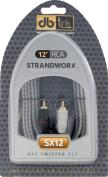 Strandworx SX12 3.7m Strandworx Series RCA Cable