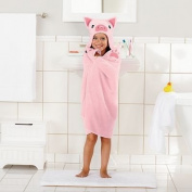 Jumping Beans Kitty Hooded Bath Wrap Beach Towl