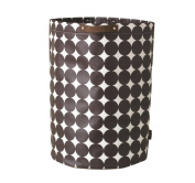 DwellStudio Storage Bin, Dots Chocolate