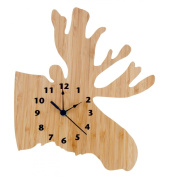 Trend Lab Northwoods Wall Clock, Moose