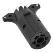 Wesbar Vehicle/Trailer Adapter - 7-Way Blade to 4-Way Flat