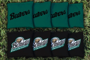 Bemidji State University BSU Beavers Replacement Cornhole Bag Set