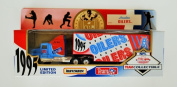 Matchbox White Rose 1995 NFL Team Collectible 1:80 Scale Diecast Tractor Trailer TENNESSEE OILERS