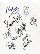 2002 US Solheim Cup Team Rare Golfer Golf Signed Autograph - Autographed Golf Equipment