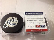 Autographed Cory Schneider Hockey Puck - COA d - PSA/DNA Certified - Autographed NHL Pucks