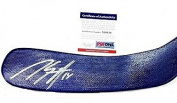 Autographed Marc Staal Hockey Stick - Psa dna X10154