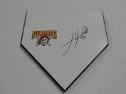 Francisco Liriano Signed Home Plate Pittsburgh Pirates Autographed - MLB Game Used Bases