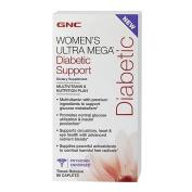 GNC Women's Ultra Mega Diabetic Support, Capsules, 90 ea