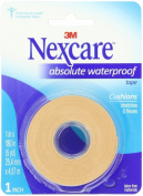 Nexcare Absolute Waterproof First Aid Tape, 2.5cm x 5-Yard Roll