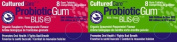 CulturedCare Oral Probiotic Blis-K12, 2 Packs Gum x 8 pieces SAMPLER PACK