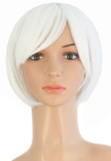 MapofBeauty Women's Short Straight Cosplay Party Wig BOB Wig