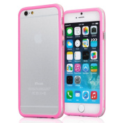 iPhone 6 Plus Case - KAYSCASE ColorLine Bumper Cover Case for Apple iPhone 6, iPhone Air 14cm 2014 Version . Pink)
