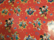 Disney Hallmark Mickey Mouse Clubhouse Gift Wrap Wrapping Paper