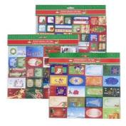 190 Christmas Gift Tags Self Stick