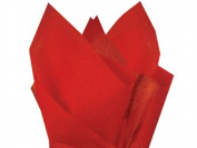 Scarlet Red Tissue Paper 38cm X 50cm - 100 Sheet Pack