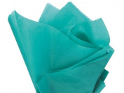 Teal Tissue Paper 38cm X 50cm - 100 Sheet Pack