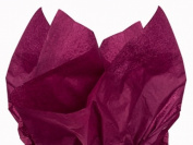 Burgundy Tissue Paper 38cm X 50cm - 100 Sheet Pack