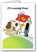 Funny New Address Card Pack - 18 Cards and 19 Envelopes