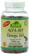 Alfa Vitamins Alfa 3-6-9 1000 Mg Nutrition Supplement, 100 Count