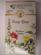 Celebration Herbals Organic Dong Quai Tea Caffeine Free -- 24 Herbal Tea Bags