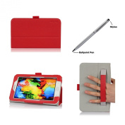 ProCase Folio Case with Stand for Samsung Galaxy Tab 3 Lite 7 Tablet (Lite 18cm ) SM-T110, bonus stylus pen included