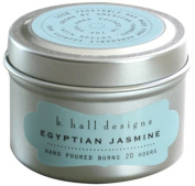 k hall designs Candle Tin, Egyptian Jasmine