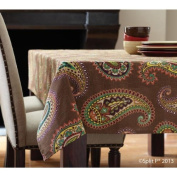 Moroccan Paisley Tablecloth
