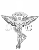 NursingPin - Doctor of Chiropractic Medicine DC Graduation Pin in Sterling Silver