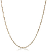 14k Solid Gold Perfectina Chain Necklace