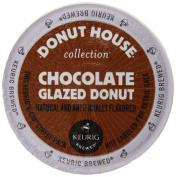 Keurig, Donut House Collection, Chocolate Glazed Donut, K-Cup packs, 72 Count