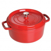 Staub Cookware Round Cocotte - Cherry, Size