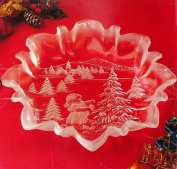 Mikasa Christmas Story 25cm Bon Bon Plate Item SA 600/902 Candy Dish Made in Germany