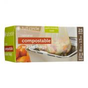 Full Circle Renew 9.5l Compostable Waste Bags for Compost Collector 25ct