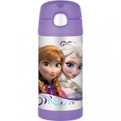 Thermos 350ml Funtainer Bottle, Frozen Purple