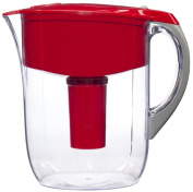 Brita Grand Water Philtre Pitcher, Red, 10 Cup