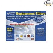 Watts WHOLE HOUSE FP Premier Replacement filters , 5-Pack