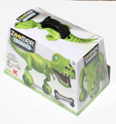 Zoomer Dino - Bonekruncher - Exclusive All-Green Interactive Robotic Dinosaur