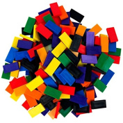 Bulk Dominoes Plastic Mixed Colours 100pcs