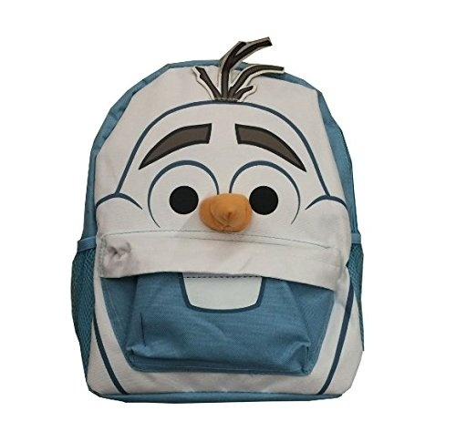 Small Size Blue Olaf Face Disney Frozen Kids Backpack By Ruz Shop