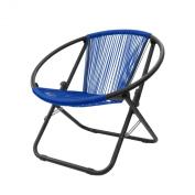 Urban Shop Outdoor Woven Chair, Royal Blue