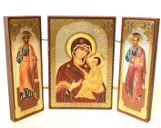 Holy Mother of Tikhvin Archangel Michael Gabriel ORTHODOX RUSSIAN ICON