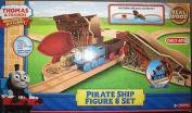 Thomas the Train Wooden Railway Exclusive PIRATE SHIP FIGURE 8 SET