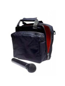 Stagg MIB-100 Microphone Bag with Thick Velvet Lining and Two Compartments