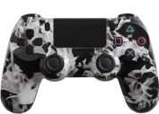 Custom PlayStation 4 Controller White Fire [Special Edition]