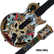 Protective Skin Decal Cover Sticker for GUITAR HERO 3 III PS3 Xbox 360 Les Paul - Tribal Skull