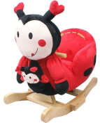 Rocking Animal - Ladybird Animal Rocker for Baby Childrens boys girls with sounds and Baby Ladybird