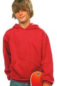 Lat 2296 Youth Fleece Hooded Pullover Sweatshirt